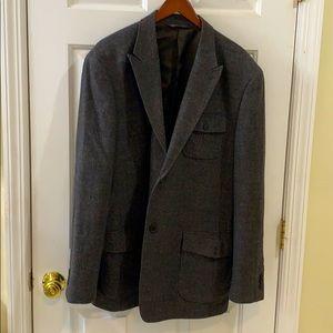 Perry Ellis tweed coat!